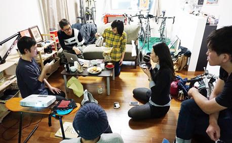 出張カフェ in 自転車乗りの家