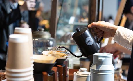 初めての東京コーヒーフェスティバル出展