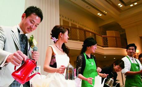 Wedding Barista Project