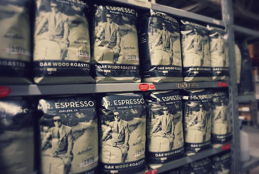 Mr.espresso 店内